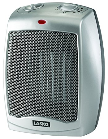 1. Lasko 754200 Ceramic Heater with Adjustable Thermostat