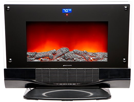 10. Bionaire Electric Fireplace Heater with Remote Control