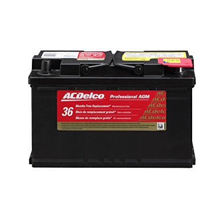 9. ACDelco 94RAGM Professional AGM Automotive BCI Group 94R Battery