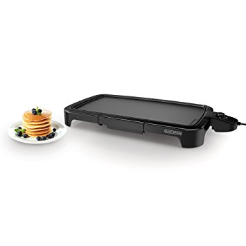 1. Black+Decker GD2011B Family Sized Electric Griddle