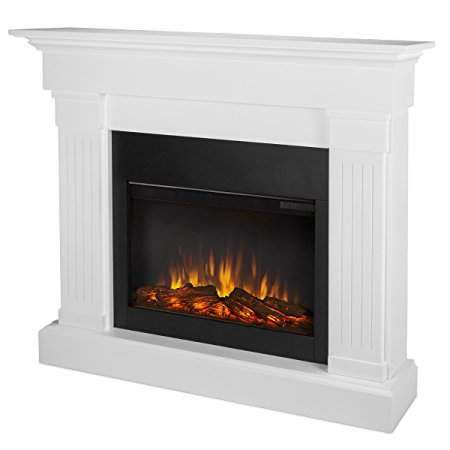 4. Real Flame 8020E-W Crawford Electric Fireplace