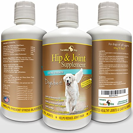 10. TerraMax Pro Hip and Joint Supplement for Dogs