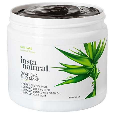 1. InstaNatural Dead Sea Mud Mask