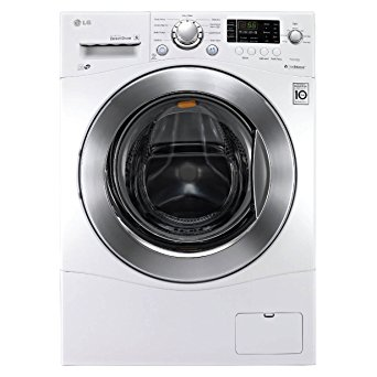 6. LG WM1388HW 2.3 Cu. Ft. White Stackable Front Load Washer