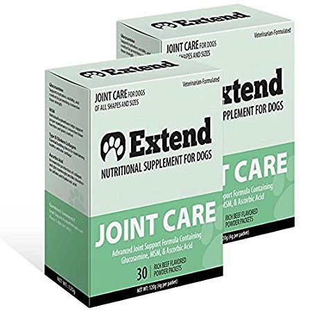 9. Extend Joint Care Natural Glucosamine with MSM for Dogs