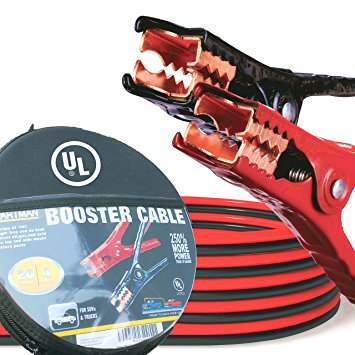 10. Cartman Booster Cable 4 Gauge x 20Ft in Carry Case