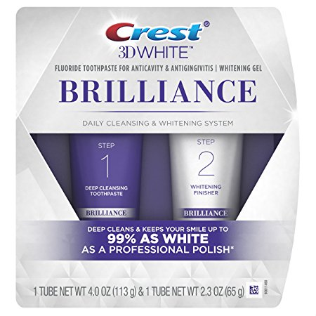 3. Crest 3D White Brilliance Toothpaste