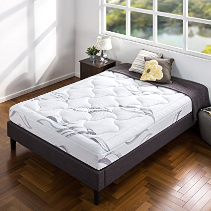 9. Zinus Sleep Master Pocketed Spring 8 Inch Classic Mattress, Queen