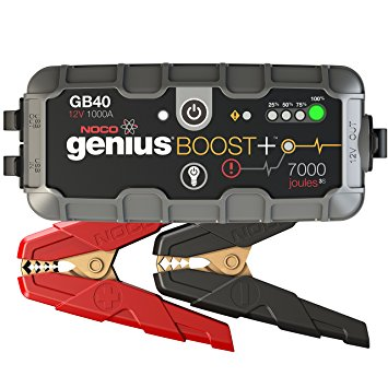 5. NOCO Genius Boost Plus GB40 1000 Amp 12V UltraSafe Lithium Jump Starter