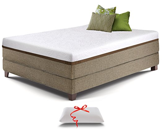 3. Live and Sleep Resort Ultra 12-Inch California King Size Gel Memory Foam Mattress