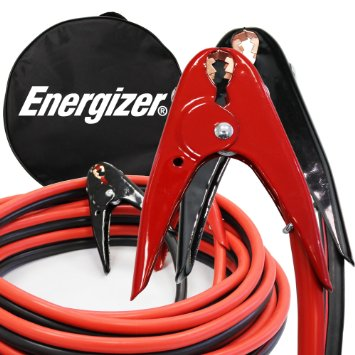 6. Energizer 1-Gauge 800A Heavy Duty Jumper Battery Cables