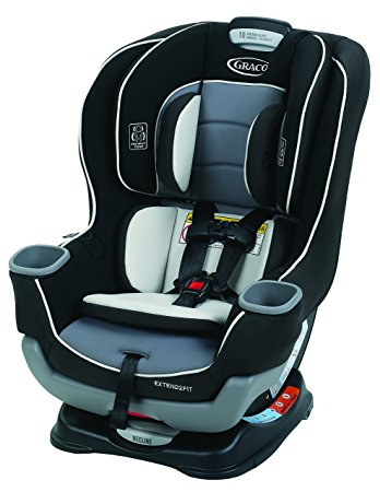 3. Graco Extend2Fit Convertible Car Seat