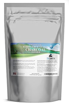 8. Zen Charcoal Hardwood Activated Charcoal Powder