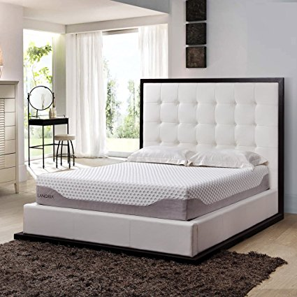 10. LANGRIA Premium 10 Inch Gel Infused Memory Foam Mattress