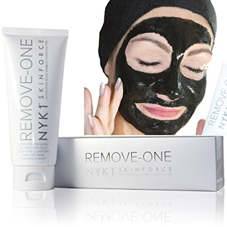 4. NEW NYK1 Remove One Layer of Dead Skin Cells, Activated Carbon Peel Off Black Mask