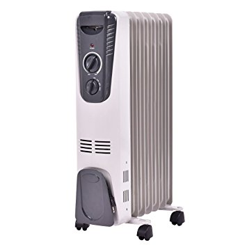10. Tangkula Electric Oil Filled Radiator Heater