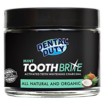 6. Dental Duty Activated Teeth Whitening Charcoal
