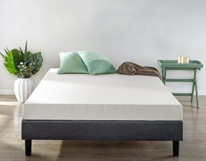 1. Zinus Memory Foam 6 Inch Green Tea Mattress
