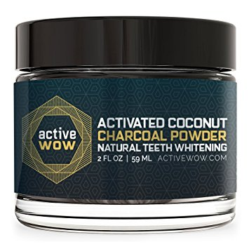 2. Active Wow Activated Coconut Charcoal Powder