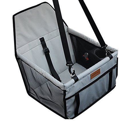 2. WOpet Deluxe Portable Pet Dog Car Booster Seat