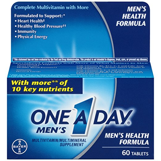4. One-A-Day Men's Health Formula