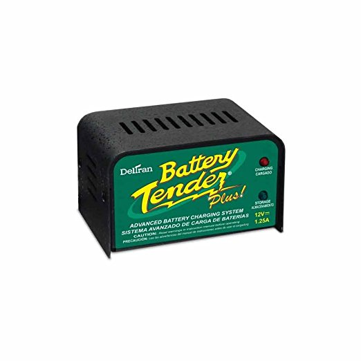 2. Battery Tender Plus 021-0128, 1.25 Amp Battery Charger