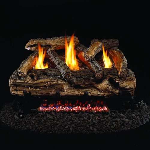 6. Peterson Real Fyre 24-inch Split Oak Log Set