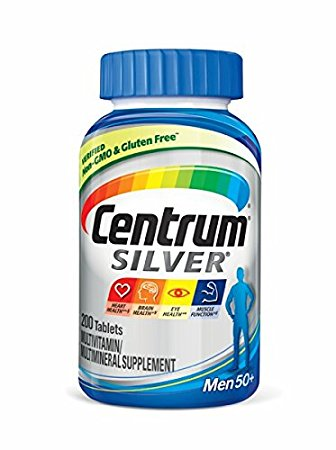 1. Centrum Silver Men Multivitamin