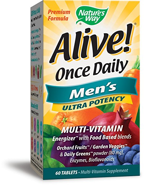 6. Nature's Way Alive! Once Daily Men's Multi-Vitamin