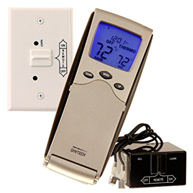 7. Skytech 9800325 SKY-3301P2 Backlit Programmable Fireplace Remote Control