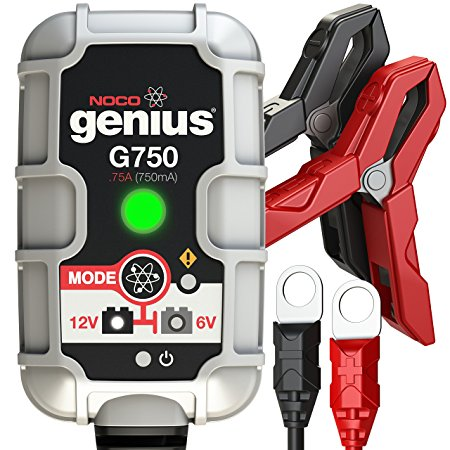 8. NOCO Genius G750 6V/12V .75A UltraSafe Smart Battery Charger