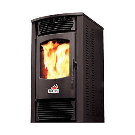 8. 30,000 BTU Pellet Stove with Electric Ignition and Improved Controller