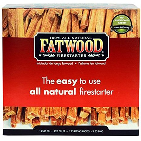 9. Fatwood Firestarter
