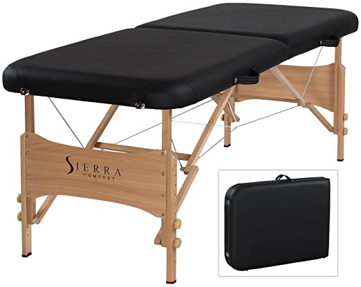 6. Sierra Comfort Basic Portable Massage Table
