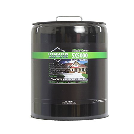 3. Penetrating Clear Solvent-Based Silane-Siloxane Concrete & Masonry Sealer