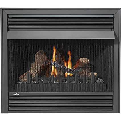 8. Napoleon GVF36-2N 30 000 BTU Vent Free Natural Gas Fireplace