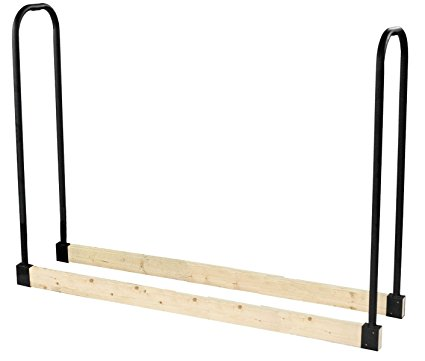 7. Pleasant Hearth - 32mm Heavy Duty Log Rack