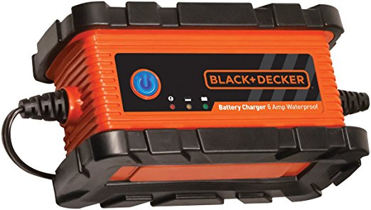 6. BLACK+DECKER BC6BDW 6 Amp Waterproof Battery Charger / Maintainer
