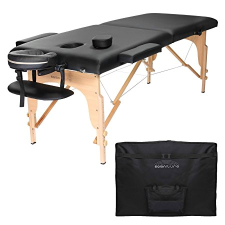 5. Saloniture Professional Portable Folding Massage Table