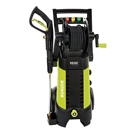 2. Sun Joe SPX3001 2030 PSI 1.76 GPM 14.5 AMP Electric Pressure Washer