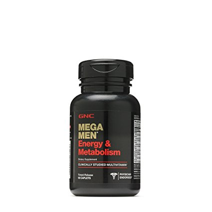 8. GNC Mega Men Energy & Metabolism Tablets