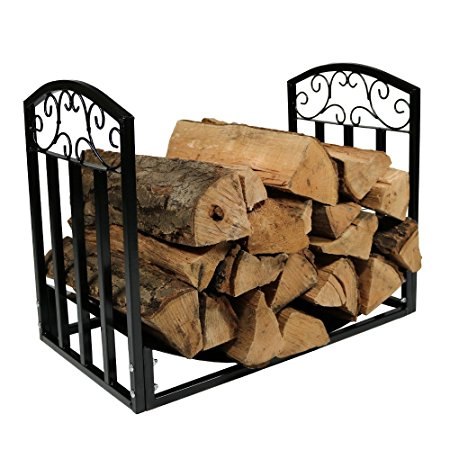 9. Indoor/Outdoor 2 Foot Designer Log Holder