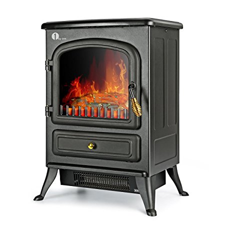 4. 1byone Electric Fireplace Stoves