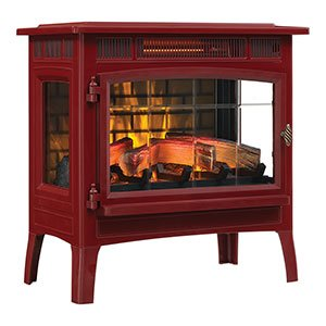 2. Duraflame 3D Infrared Electric Fireplace Stove