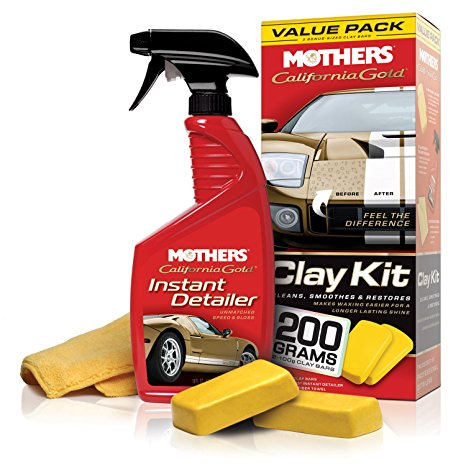 1. Mothers 07240 California Gold Clay Bar System