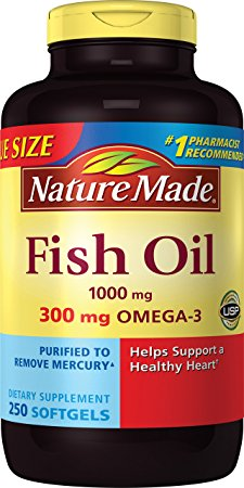 6. Nature Made 2659 Fish Oil 1000 Mg