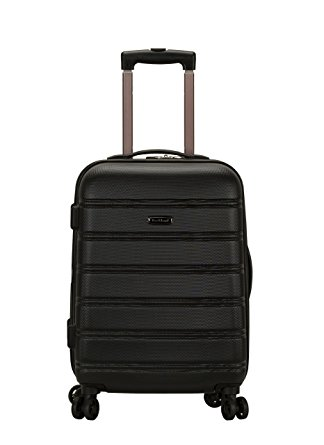 1. Rockland Melbourne 20-Inch Expandable Abs Carry On Luggage