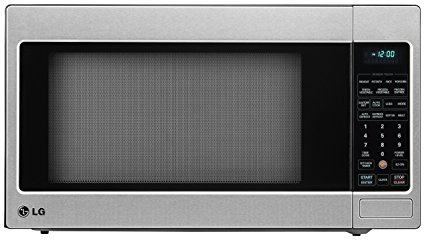 7. LG LCRT2010ST 2.0 Cu Ft Counter Top Microwave Oven with Easy Clean