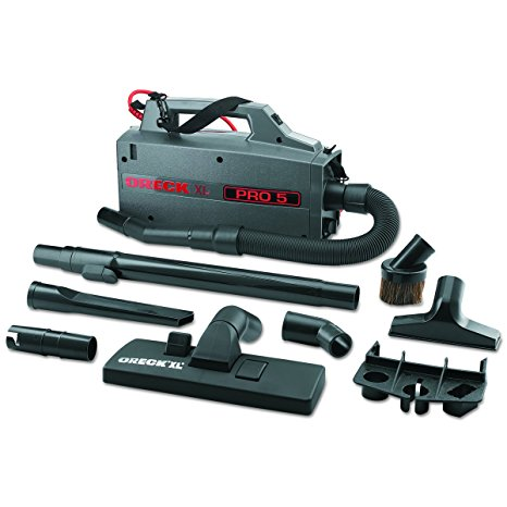 10. Oreck Commercial BB900DGR XL Pro 5 Super Compact Canister Vacuum