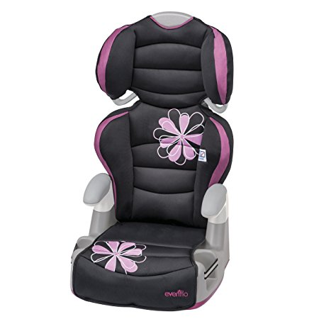 10. Evenflo Amp High Back Booster Car Seat